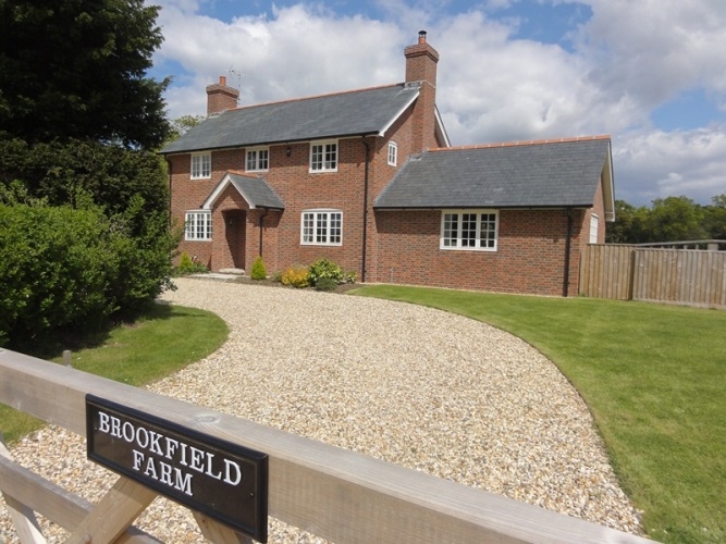 Brookfield Farmhouse, North Ripley, Bransgore, Christchurch, Dorset BH23 8EL